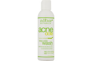 Alba Botanica Acne Dote Deep Pore Wash Maximum Strength