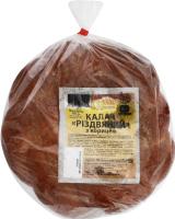 Калач з корицею Різдвяний Дніпровський хлібокомбінат №11 м/у 400г