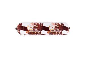 Морозиво Кенійська зебра Laska тубус 450г