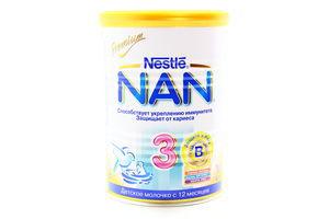 Смесь Нан №3 Premium Nestle 400г ж/б