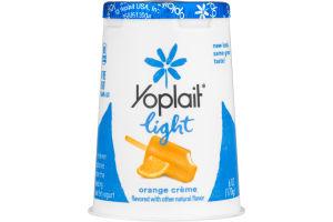 Yoplait Light Yogurt Orange Creme