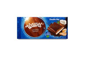 Шоколад черный Wawel с кокосово-арахис начинкой