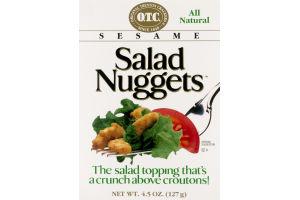 Original Trenton Crackers Sesame Salad Nuggets