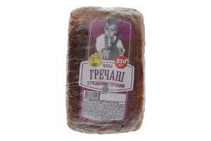 Хлебці гречані з грецькими горіхами Золотий дар м/у 330г