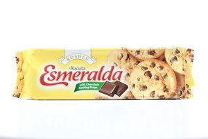 Печенье Эсмеральда с кус шок глазури Roshen 150г