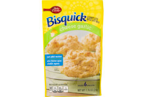 Bisquick Complete Biscuit Mix Cheese Garlic