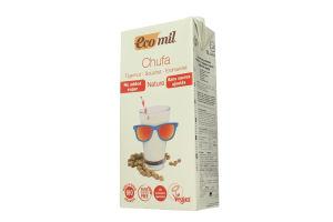 Органічне рослинне молоко з тигрового горіху (чуфи) без цукру 1л