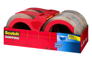 Scotch Shipping Packaging Tape - 4 CT