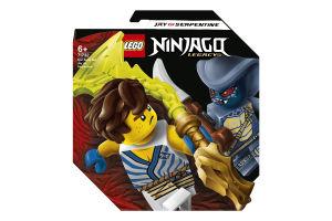 Конструктор для дітей від 6років №71732 Jay vs Serpentine Epic Battle Set Ninjago Lego 1шт