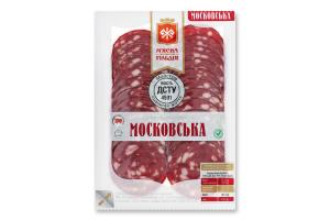 Ковбаса Московська М'ясна Гільдія в/к в/у 0.1кг