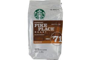 Starbucks Pike Place Roast Medium Ground Coffee