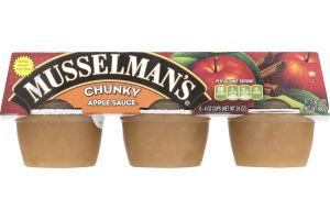 Musselman's Apple Sauce Chunky - 6 CT