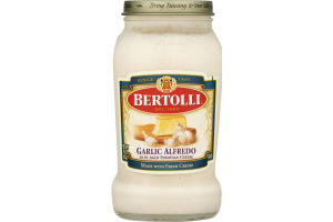 Bertolli Sauce Garlic Alfredo with Aged Parmesan Cheese