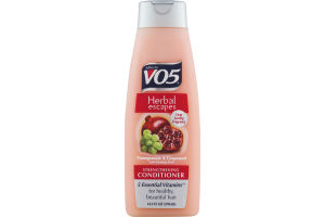 Alberto VO5 Herbal Escapes Strengthening Conditioner Pomegranate & Grapeseed