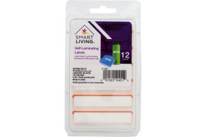 Smart Living Self-Laminating Labels - 12 CT