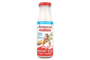 Йогурт банан - полуниця 2,5%/200/скл/ЯготД