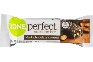 Zone Perfect Nutrition Bar Dark Chocolate Almond
