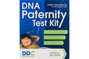 DDC DNA Paternity Test Kit Home Collection Kit