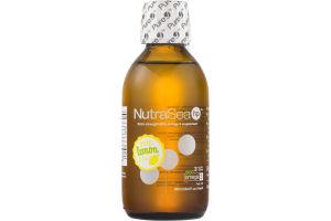 NutraSea HP Omega-3 Supplement Zesty Lemon Flavor