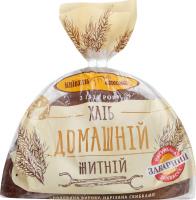 Хлеб ржаной половинка в нарезке Домашний Київхліб м/у 450г