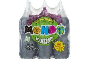 Mondo Squeezers Global Grape - 6 CT