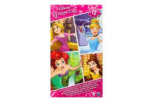 Пазл Disney Принцессы резиновый 12 частей SM98396