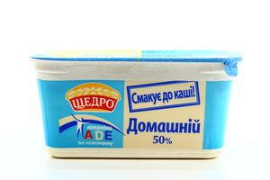 Маргарин Щедро Домашній для каші 50% 400г х24
