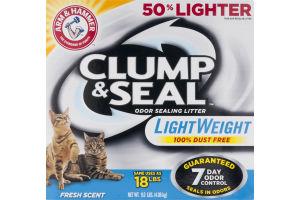 Arm & Hammer Clump & Seal Odor Sealing Cat Litter LightWeight Fresh Scent