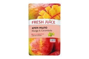 Крем-мыло жидкое Mango&Carambola Fresh Juice 460мл