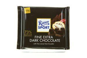 Шоколад Extra Dark Ritter Sport 100г