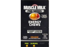 Muscle Milk Pro Series Energy Chews Orange - 10 CT