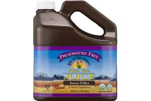 Lily Of The Desert Preservative Free Aloe Vera Juice Inner Fillet Dietary Supplement