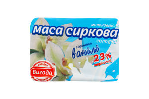 Маса сиркова молоковмісна соло