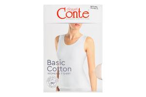 Майка жіноча Conte elegant Basic Collection №LM2020 170-100/XL natural