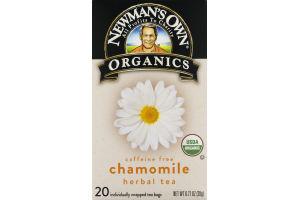 Newman's Own Organics Chamomile Herbal Tea - 20 CT