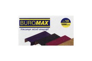 Скоби кольорові №BM.5501 №10 Buromax 1шт