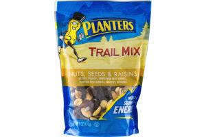 Planters Trail Mix Nuts, Seeds & Raisins