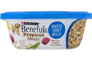 Purina Beneful Prepared Meals Dog Food Roasted Turkey Medley
