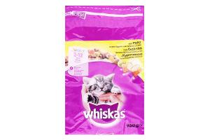 Корм сухой для котят с курятиной Whiskas м/у 950г
