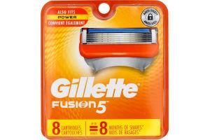 Gillette Fusion Power Cartridges - 8 CT