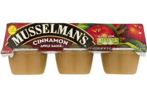 Musselman's Apple Sauce Cinnamon - 6 CT