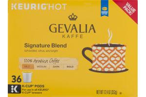 Gevalia Kaffe Signature Blend Mild Keurig Hot K-Cup Pods - 36 CT
