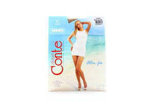 Колготы женские Conte Summer Multifibra 8den 3-M natural