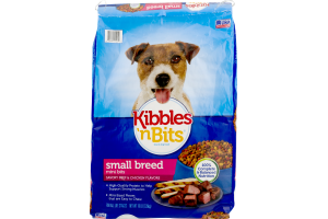 Kibbles 'n Bits Dog Food Small Breed Savory Beef & Chicken Flavors