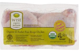 Wise Organic & Kosher Free-Range Chicken Thighs