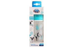 Пляшка для годування з широким отвором антіколіковая №35/226_grey Easystart Canpol babies 240мл