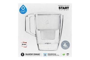 Фільтр-глечик білий 4л Start Unimax Dafi 1шт