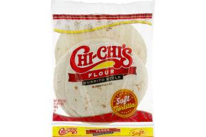 Chi-Chi's Flour Burrito Style Tortillas - 8 CT