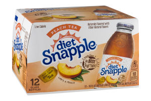 Diet Snapple Peach Tea - 12 PK
