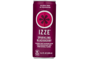 Izze Sparkling Blackberry Juice Beverage